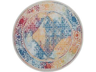 Teppich Ankara Global in Gelb/Blau/Rot