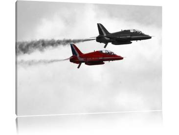 Leinwandbild ,,Elegante Staffelflieger der Royal Air Force von Snapperglenn, Grafikdruck