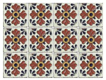 15 cm x 15 cm Selbstklebendes Mosaikfliesen-Set Maja aus PVC