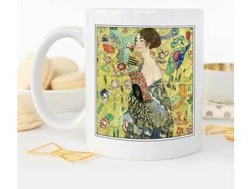 Kaffeetasse Gustav Klimt Lady with a Fan