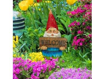 Gartenzwerg Welcome