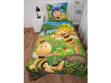 Linon-Kinderbettwäsche Biene Maja