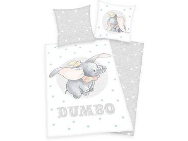 Renforcé-Kinderbettwäsche Disney´s Dumbo
