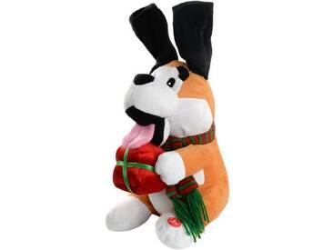 Dekorationsfigur Singender Hund