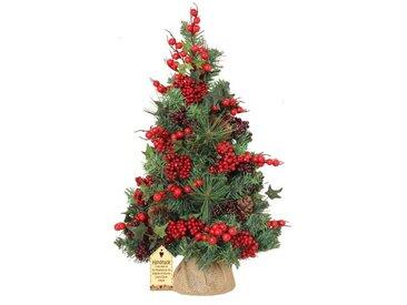 Künstlicher Weihnachtsbaum 61 cm Grün mit Ständer Woodland Berry