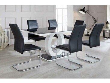 Essgruppe Ramsel mit 6 Stühlen