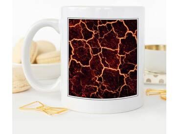 Kaffeetasse Lava Volcano