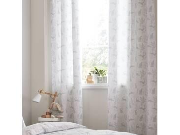 Hare Cotton Eyelet Room Darkening Curtains