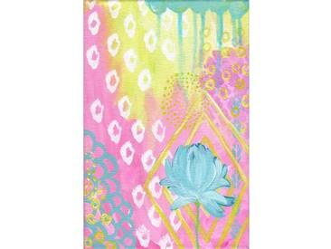 """Leinwandbild """"Flower"""" von Jill Lambert, Kunstdruck"""