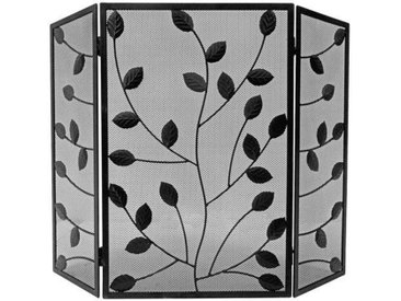 Kaminschirm Leaves aus Stahl