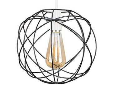 25 cm Lampenschirm Rutherford Atom aus Metall