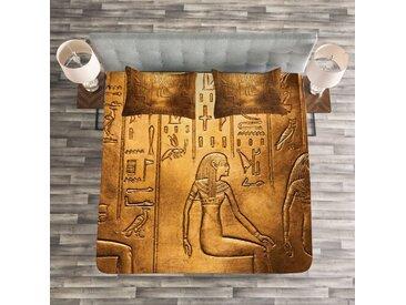 Tagesdecken-Set Robledo Egyptian mit passender Kissenhülle