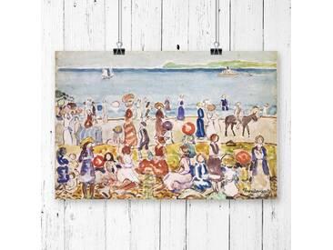 """Poster """"Revere Beach von Maurice Pendergrast, Kunstdruck"""