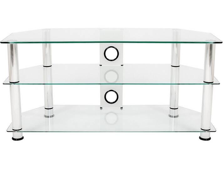 TV-Schrank Silber