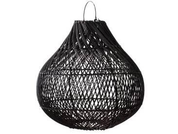60 cm Lampenschirm für Pendelleuchte Bottle aus Rattan
