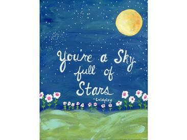 """Leinwandbild """"Full of Stars"""" von Jill Lambert, Kunstdruck"""