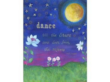 "Leinwandbild ""Dance Painting"" von Jill Lambert, Kunstdruck"