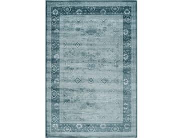 Teppich Vintage in Hellblau