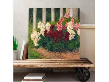 """Leinwandbild """"Flowers No. 2"""" von Carl Moll, Kunstdruck"""