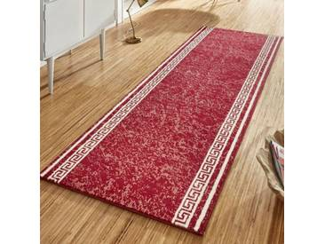 Teppich Basic in Rot