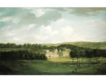 Poster Kidbrooke Park Kent von George Lambert 1740-50, Kunstdruck