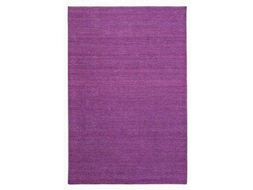 Handgefertigter Kelim-Teppich Kraus in Lila