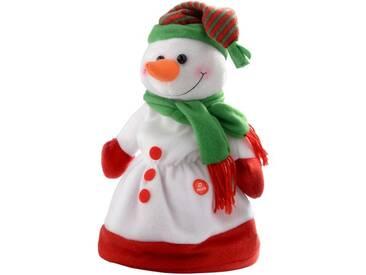 Dekorationsfigur Singing Snowman