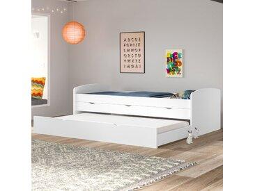 Kojenbett Hammons mit Schubladen, 90 x 200 cm