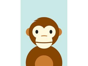 """Poster """"Monkey"""" von Dicky Bird, Grafikdruck"""