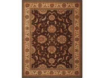 Teppich Nourison in Braun/Rot