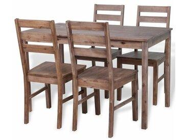 Essgruppe Coffey mit 4 Stühlen