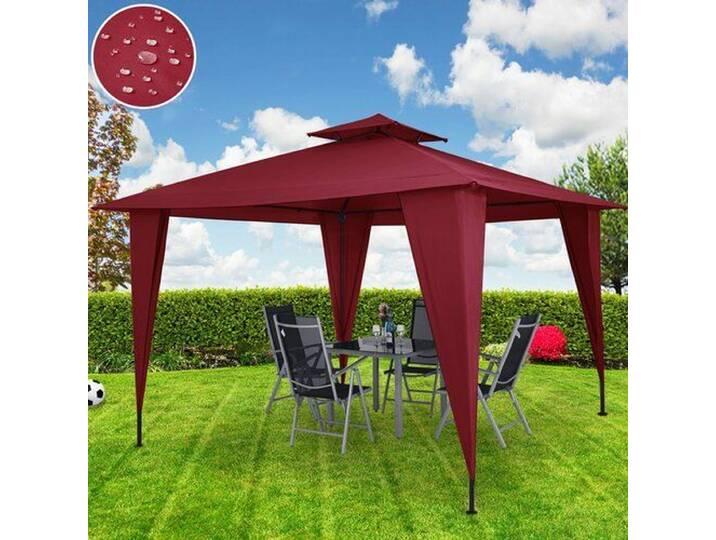 Pavillons - 350 cm x 350 cm Pop Up Pavillon Angelia aus Metall  - Onlineshop Moebel.de