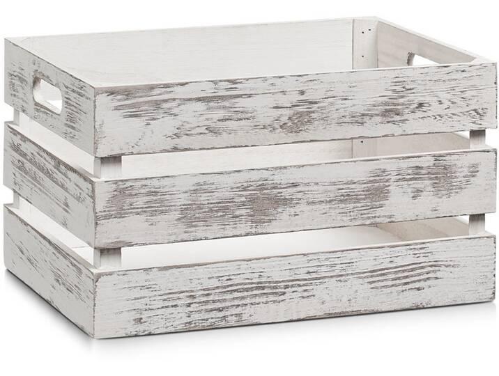 Kiste aus Massivholz