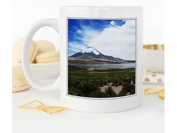 Kaffeetasse Landscape Volcano Parinacota Chile