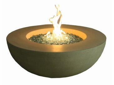 Tisch Ätna mit Feuerstelle