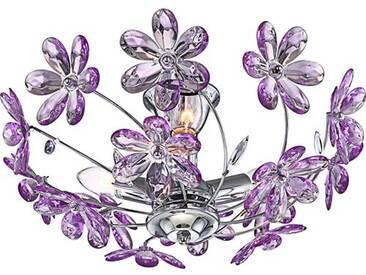 Deckenleuchte 3-flammig Purple