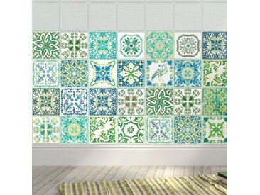 10 cm x 10 cm PVC Mosaikfliese, selbstklebend