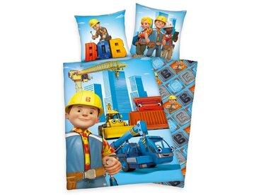Renforcé-Kinderbettwäsche Bob der Baumeister