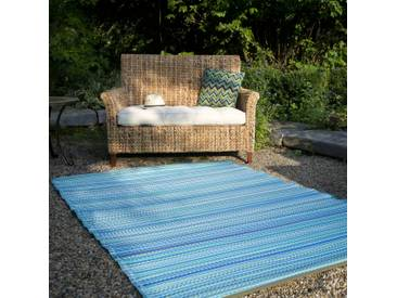 Teppich Batelov in Blau