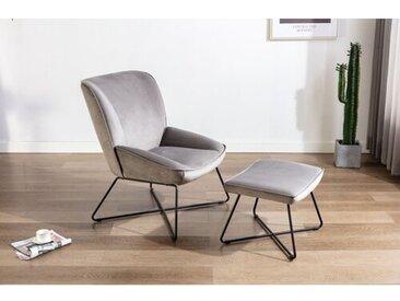Anniki Lounge Chair und Hocker