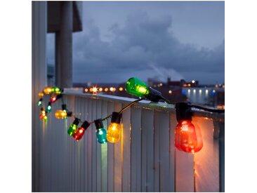 Glühbirnen-Lichterkette mit 40 Leuchten