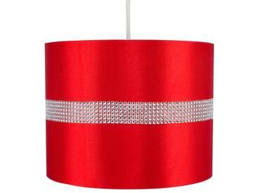 25 cm Lampenschirm für Pendelleuchten Rolla aus Stoff