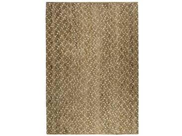 Handgefertigter Teppich Freak Of Nature in Braun