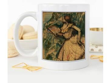 Kaffeetasse Edgar Degas Dancer with a Fan