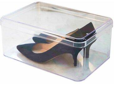 Stapelbare Schuhbox für 1 Paar Schuhe