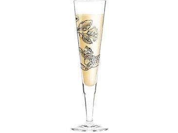 200 ml Champagnerglas White Label mit Stoffserviette
