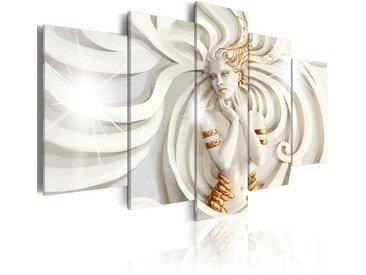 5-tlg. Leinwandbilder-Set Sonnengöttin