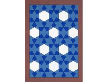 Gerahmte, grafische Kunst Overlaying Rectangles, 2011 von Peter McClure
