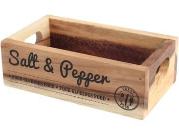 Holzkasten Salt and Pepper