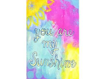 """Leinwandbild """"Sunshine"""" von Jill Lambert, Kunstdruck"""